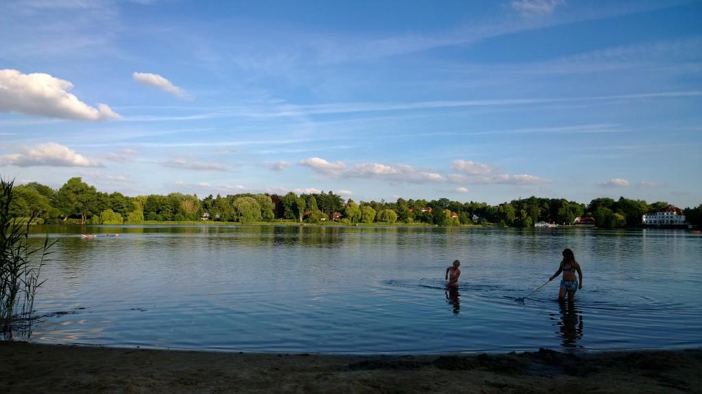 Abendidylle am Kellersee, Eutin, Campingplatz Prinzenholz